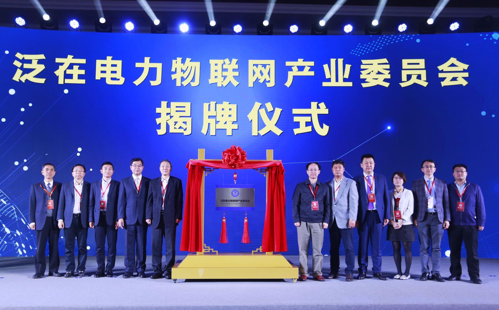 泛在电力物联网产业委员会成立大会在京隆重举行
