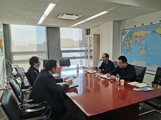 电促会一行走访副会长单位大唐发电集团 与规划发展部吴凤林主任交流座谈