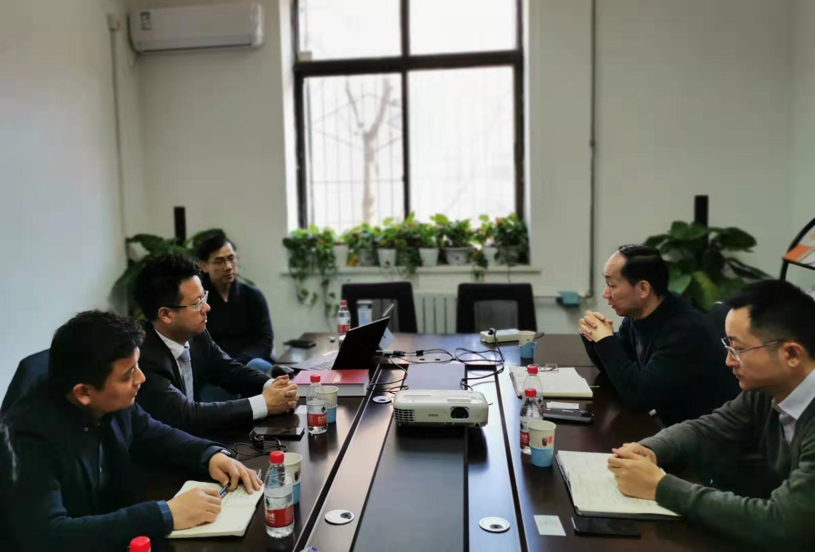 浙江正泰电器股份有限公司常务副总裁郭嵋俊一行到访电促会