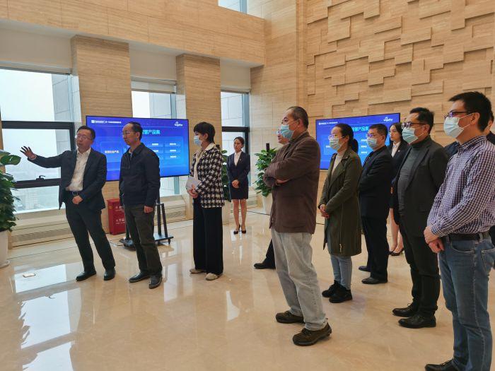 电促会常务副会长游敏一行走访理事单位中国通信服务股份有限公司